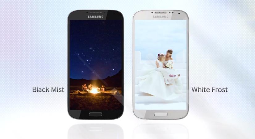 Samsung Galaxy S IV 2 colors