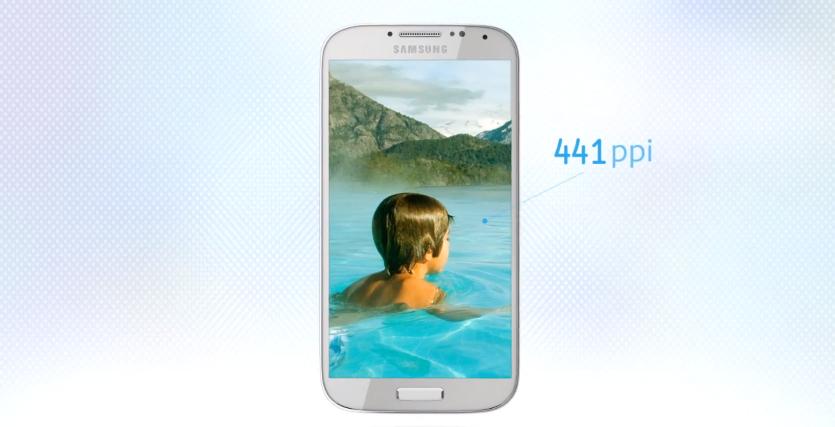Samsung Galaxy S IV 441dpi