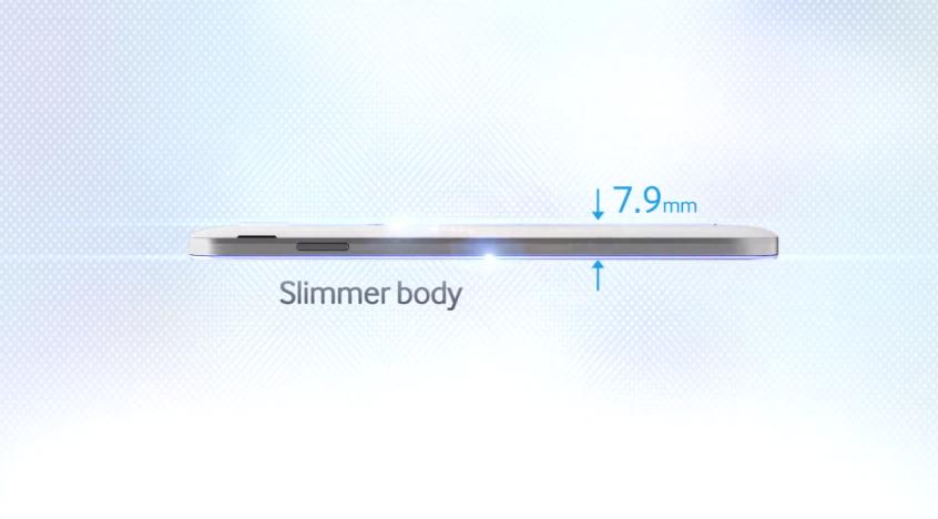 Samsung Galaxy S IV slimmer
