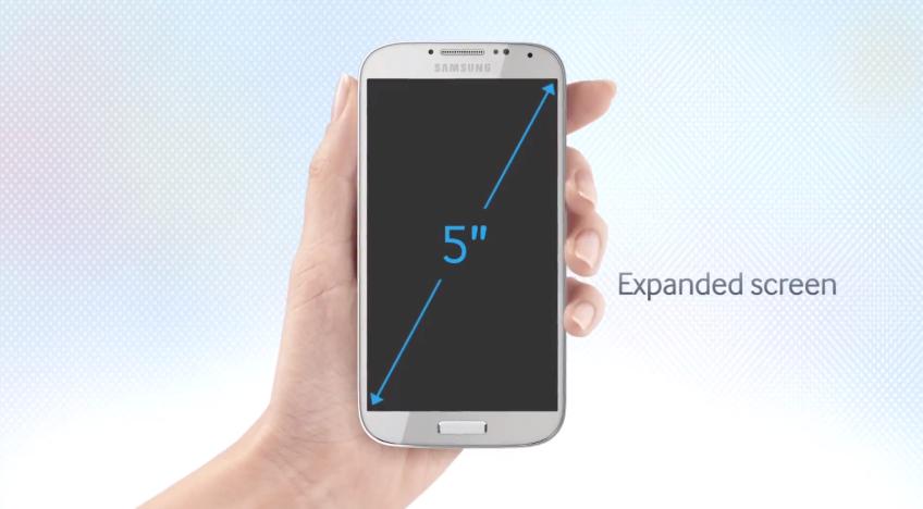 Samsung galaxy s IV 5 inch