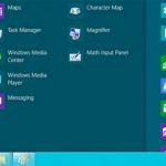 start menu window 8 and blue1