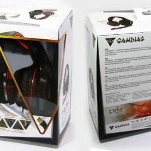 Gamdias Headphones Box